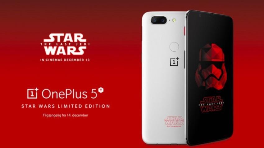 Photo of OnePlus 5T edycja Star Wars trafia na nasz kontynent