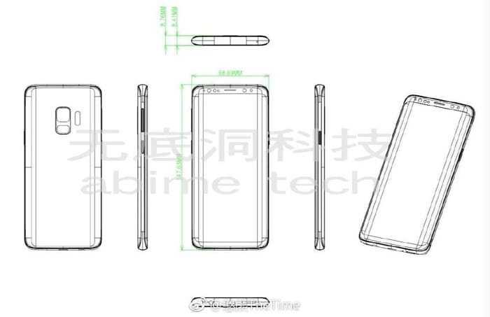 s9-schematy Tak ma wyglądać Samsung Galaxy S9