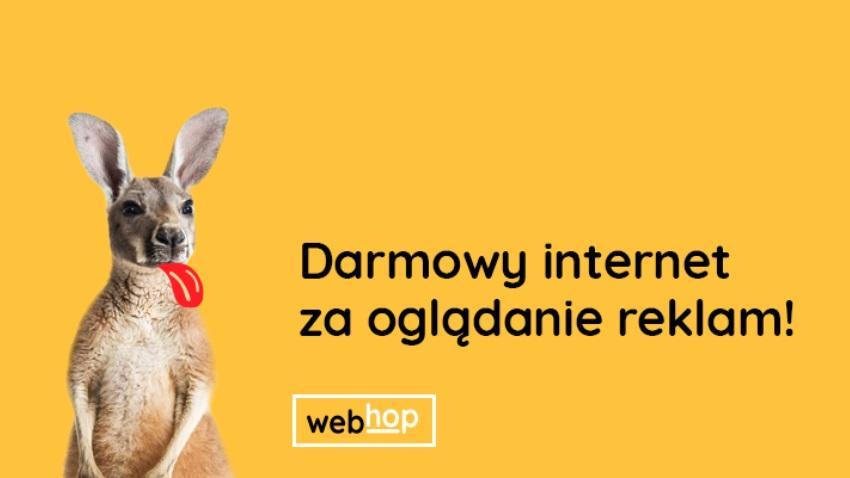 Photo of Pakiet danych za oglądanie reklam? To możliwe z aplikacją WebHop