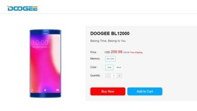 Photo of Doogee BL12000 – smartfon z baterią o pojemności 12 000 mAh!