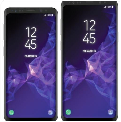 GALAXY-S9-blass Tak mają wyglądać modele Galaxy S9 i Galaxy S9+