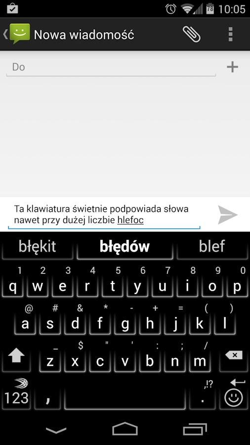 swiftkey-aplikacja-1-1 Recenzja Swifkey Keyboard darmowa  - Android