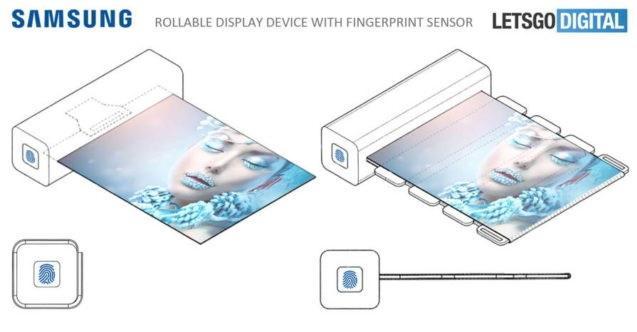 zwijany-tablet Samsung opatentował właśnie zwijanego tableta