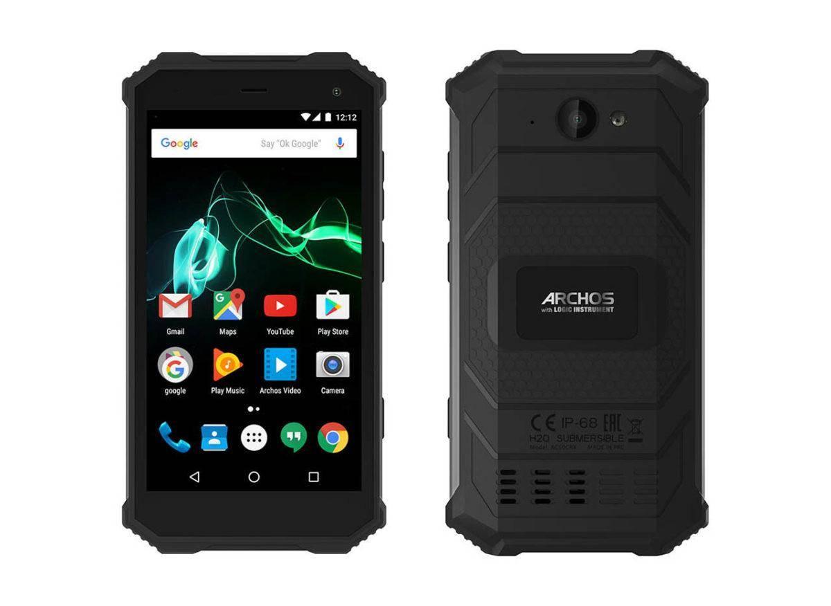archos_saphir50x-large_02 Saphir 50X – wytrzymały smartfon z wystarczającą specyfikacją