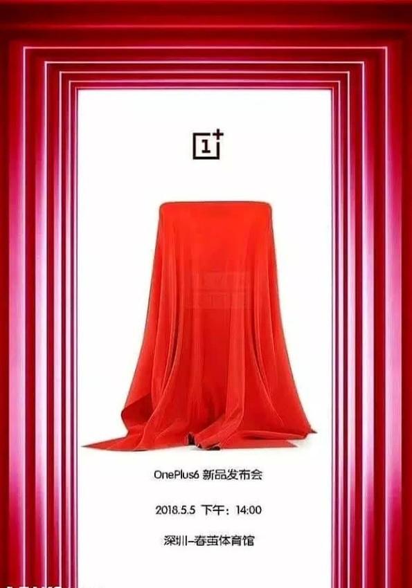 oneplus6-plakat-595x850 OnePlus 6 zostanie zaprezentowany 5 maja