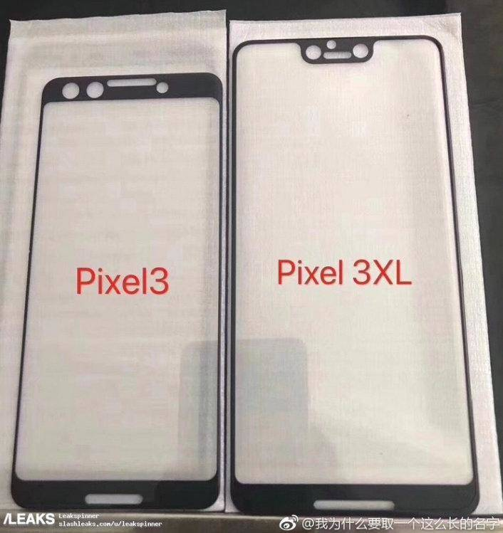 google-pixel3-pixel3xl-szkla Tak mogą wyglądać Google Pixel 3 i Pixel 3 XL