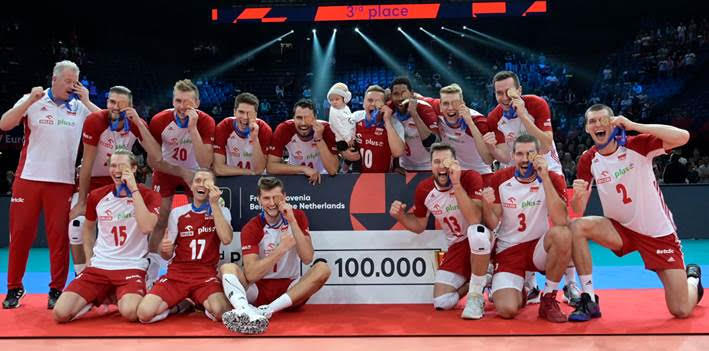 Polscy siatkarze zdobyli brązowy medal