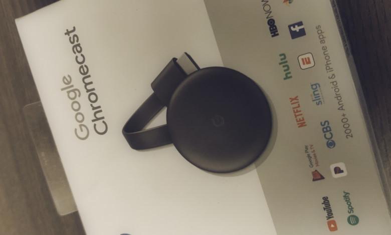 podłącz google chromecast