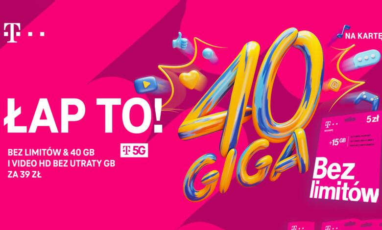 5G w T-Mobile na kartę