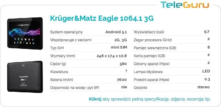 specyfikacja Krüger&Matz Eagle 1064.1 3G