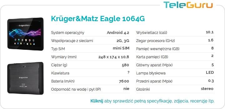 specyfikacja Krüger&Matz Eagle 1064G