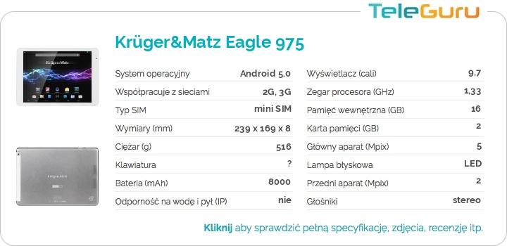 specyfikacja Krüger&Matz Eagle 975