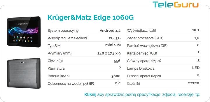 specyfikacja Krüger&Matz Edge 1060G