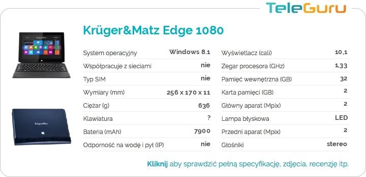 specyfikacja Krüger&Matz Edge 1080