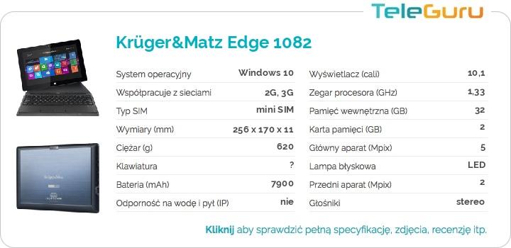 specyfikacja Krüger&Matz Edge 1082