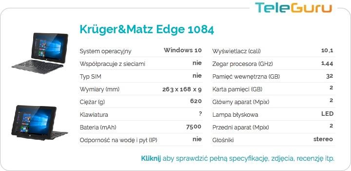 specyfikacja Krüger&Matz Edge 1084