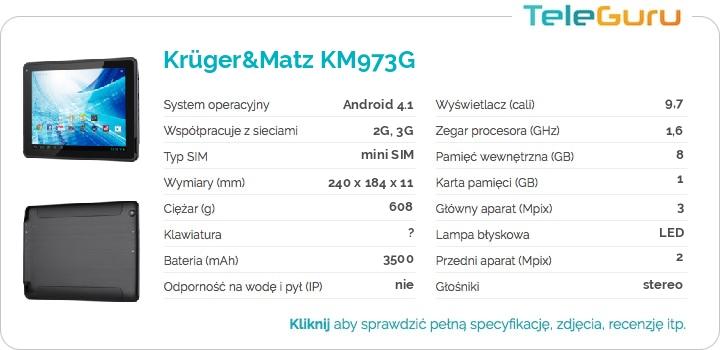 specyfikacja Krüger&Matz KM973G