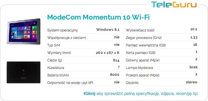 specyfikacja ModeCom Momentum 10 Wi-Fi